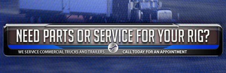 We Service Commercial Trucks and Trailers